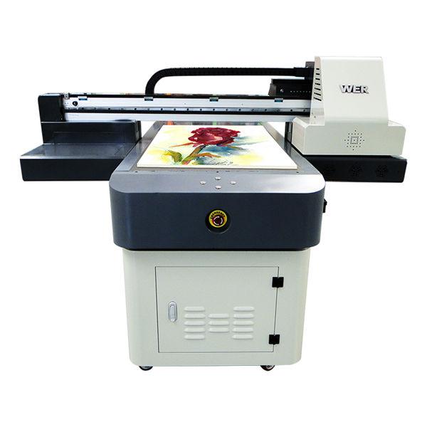 यूवी फ्लॅटबड प्रिंटर ए 2 पीव्हीसी कार्ड यूवी प्रिंटिंग मशीन डिजिटल इंकजेट प्रिंटर डीएक्स 5