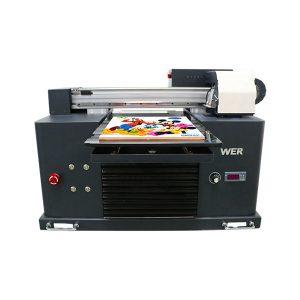 वैशिष्ट्य वापर: कार्ड प्रिंटर प्लेट प्रकार: फ्लॅटबड प्रिंटर स्थिती: नवीन परिमाण (एल * डब्ल्यू * एच): 65 * 47 * 43 सीएम वजन: 62 किलो स्वयंचलित ग्रेड: स्वयंचलित व्होल्टेज: AC220 / 110V वारंटी: 1 वर्ष मुद्रण परिमाण: 16.5x30 मुख्यमंत्री , ए 4 आकार इंक प्रकार: एलईडी यूव्ही इंक उत्पादनांची नावे: लहान प्रिंटर ए 4 आकार डिजिटल प्रिंटिंग मशीन यूवी फ्लॅटबड प्रिंटर इंक: एलईडी यूवी शाई मुद्रण उंची: 0-50 मिमी इंक सिस्टम: सीआयएसएस सिस्टम इंक रंग: सीएमवायकेडब्लू नोजल्सची संख्याः 90 * 6 = 540 प्रिंट सॉफ्टवेअर: विंडोज सिस्टम विजयापेक्षा अधिक 8 व्होल्टेज :: AC220 / 110V ग्रॉस पॉवर: 30 डब्ल्यू
