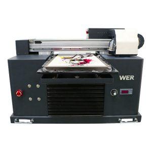 उच्च गुणवत्ता आणि कमी किंमत इको दिवाळखोर flatbed प्रिंटर स्वस्त किंमत / डिजिटल flatbed टी शर्ट प्रिंटर