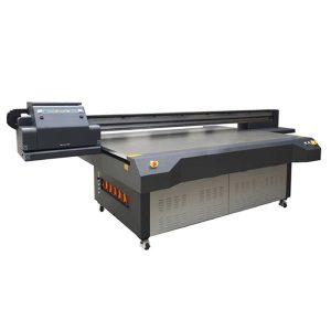 यूव्ही ने ग्लास / अॅक्रेलिक / सिरेमिक प्रिंटिंग मशीनसाठी फ्लॅटबड प्रिंटरचे नेतृत्व केले