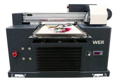 ए 3 आकार मल्टी-रंग फ्लॅट बेड प्रकार टी-शर्ट डीटीजी प्रिंटर