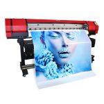 पूर्ण रंग इको दिवाळखोर वाइड स्वरूप इंकजेट लेबल प्रिंटर प्रिंटर