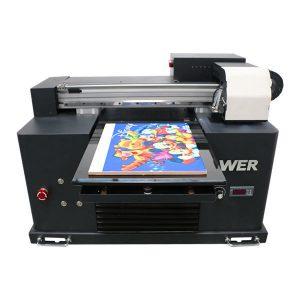 201 9 नवीन डीएक्स 5 हेड फ्लॅटबड प्रिंटर ए 3 आकार यूव्ही एलईडी प्रिंटिंग मशीन