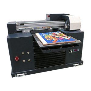 इंकजेट प्रिंटिंग मशीनने ए 3 ए 4 आकारासाठी फ्लॅटबड यूव्ही प्रिंटर आणले