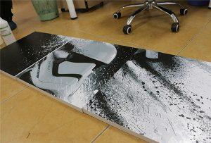 WER-G2513UV मोठ्या स्वरूप UV प्रिंटर 2 द्वारे मुद्रित बिलबोर्ड