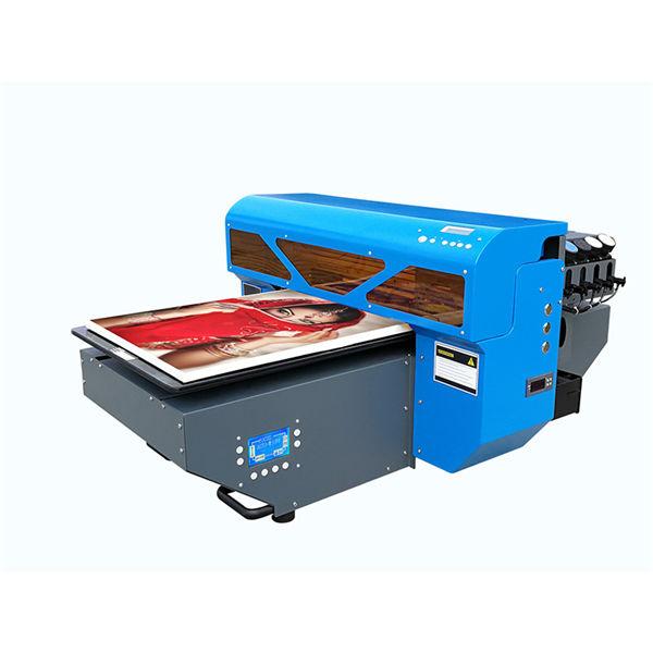 ग्लास सिरेमिक टाइल लाकूड लहान ए 2 यूव्ही फ्लॅटबड प्रिंटरचे नेतृत्व करते