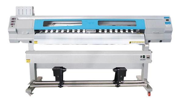 S7000 1.9 एम रोल मऊ फिल्म रोल करण्यासाठी यूव्ही डिजिटल इंकजेट प्रिंटरचे नेतृत्व केले