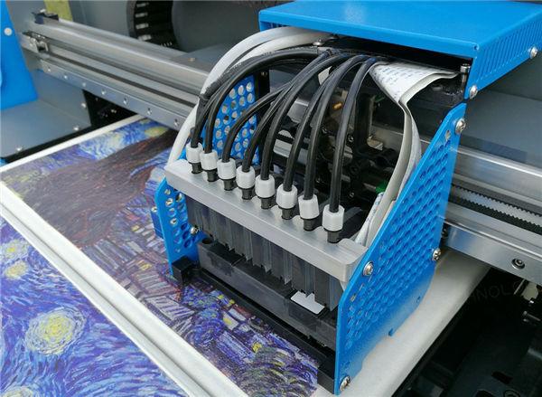 ग्लास सिरेमिक टाइल वुड लहान ए 2 यूव्ही फ्लॅटबड प्रिंटरचे नेतृत्व करते