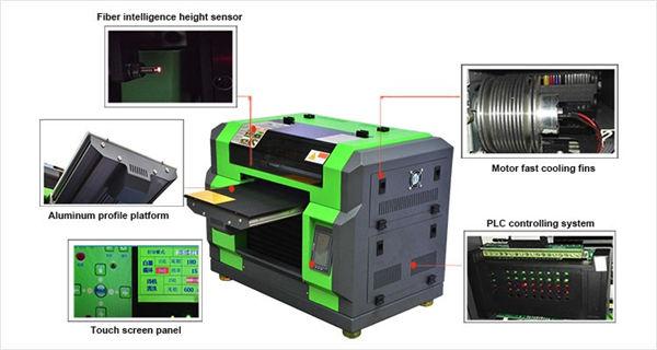उच्च गुणवत्ता डीटीजी ए 3 टी-शर्ट यूव्ही प्रिंटर
