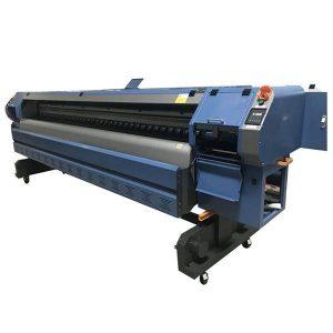 512i प्रिंटहेड डिजिटल व्हिनिल फ्लेक्स बॅनर सॉल्व्हेंट प्रिंटर / प्रिंटिंग मशीन