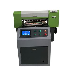 बेस्ट सेलिंग टी-शर्ट टेक्सटाईल फ्लॅटबड प्रिंटर ऍक्रेलिक गारमेंट प्रिंटर फ्लॅटबड प्रिंटिंग मशीन