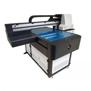8 सेमी मुद्रण उंची WER-ED6090UV साठी यूवी फ्लॅटबड प्रिंटर रोटरी