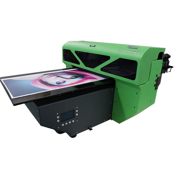 A2 लहान स्वरूप UV flatbed प्रिंटर 1 पीसी डीएक्स 5 प्रिंट हेडसह