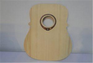 ए 2 आकार यूव्ही प्रिंटर WER-DD4290UV मधील वुड गिटार नमुना