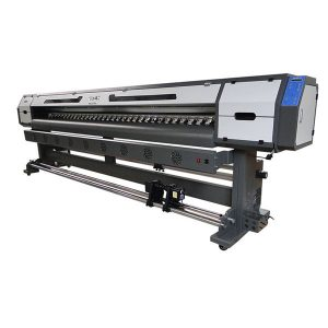 3.2 एम डीजीई 5113 हेड इको विलायक प्रिंटर 10 फूट फ्लेक्स बॅनर प्रिंटिंग मशीन
